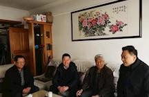 春(chun)節前夕州科協慰問退休(xiu)職工